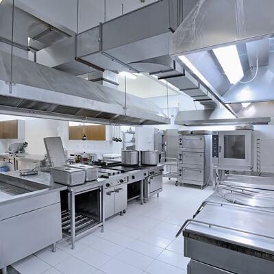dieptereiniging (groot)keuken